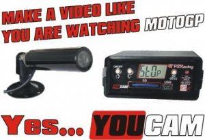You Cam - Caméra embarquée avec acquisition de données.