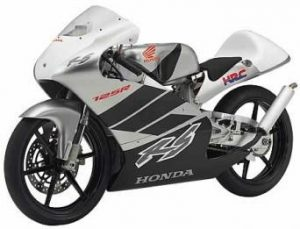 Honda 125 RS, dernier modèle + Moto 3