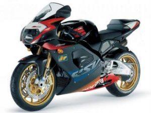 Aprilia RSV 1000, de 2002 à 2003