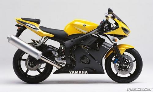 Yamaha R6, 2003 à 2004