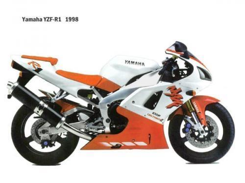 Yamaha R1, de 1998 à 1999