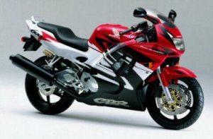 Honda 600 CBR, de 1996 à 1998