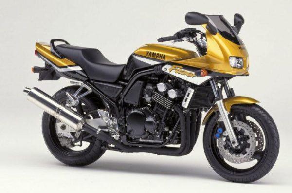 Yamaha 600 Fazer, avant 2002