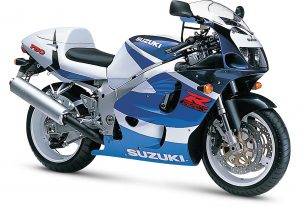 Suzuki 600-750 GSX-R, de 1996 à 1999 SRAD